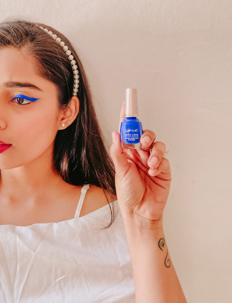 Cobalt blue Lakme Eyeliner