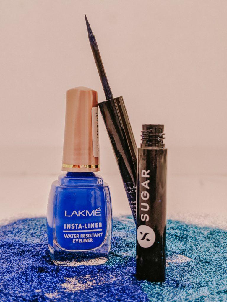 Lakme And Sugar Cosmetics Eyeliner Product